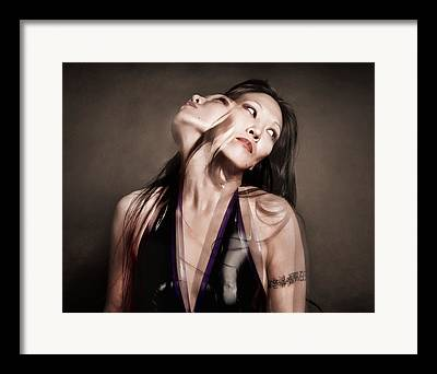 Alternative Portaiture Framed Prints