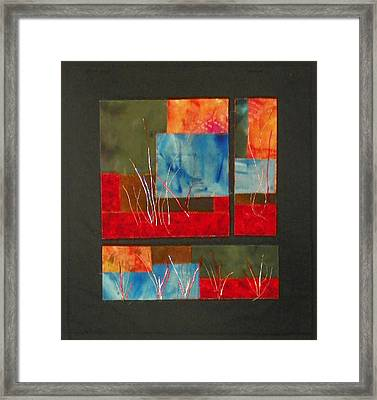 Reeds Framed Print by Jenny Williams