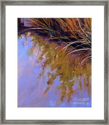 Reeds - No. 1 Framed Print