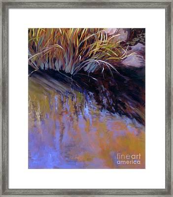 Reeds- No. 2 Framed Print