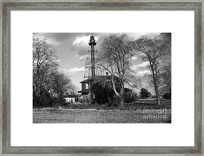 Reedy Island Light Framed Print