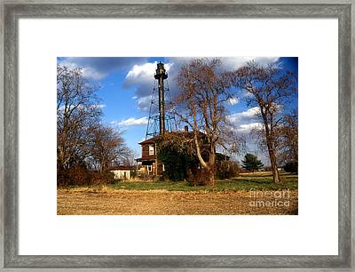 Reedy Island Lighthouse Framed Print