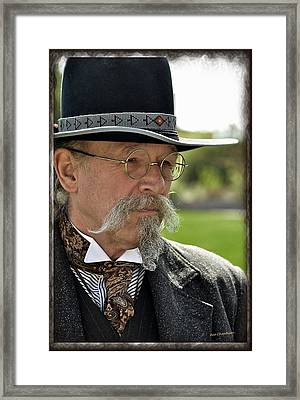 Reenactor 1880s Style Framed Print