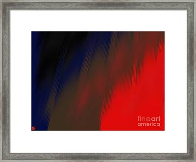 Reentry Framed Print