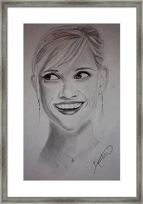 Reese Witherspoon Framed Print