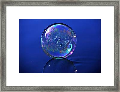 Refection Of My World Framed Print by Terry Cosgrave