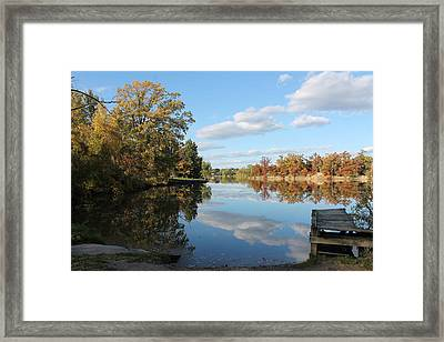 Reflect Bliss Framed Print by Joe Church