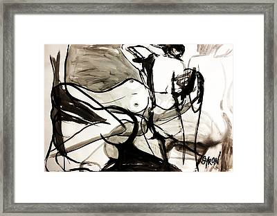 Reflect Framed Print by Helen Syron