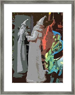 Framed Print featuring the digital art Reflect by Kelly McManus
