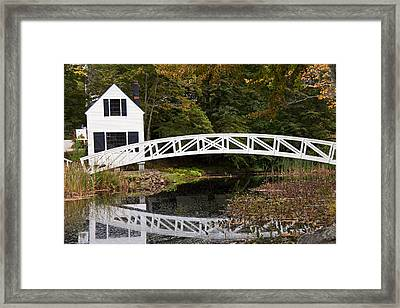 Reflected Arch Framed Print