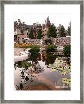 Reflected Biltmore Framed Print by David Bearden