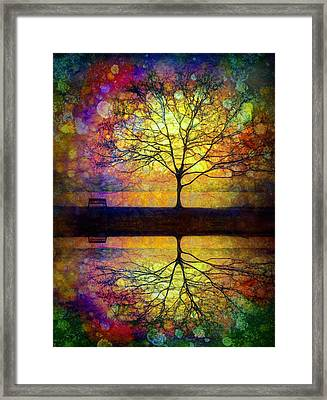 Reflected Dreams Framed Print by Tara Turner