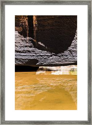 Reflected Formations Framed Print