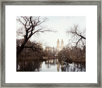 Reflected Framed Print by Lisa Russo