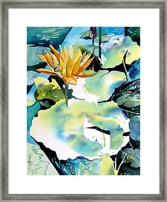Reflected Magic Framed Print by Rae Andrews