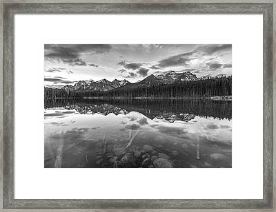Reflected Mountain Framed Print