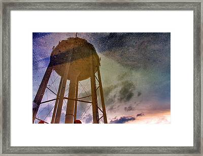Framed Print featuring the photograph Reflected Necessity by Jason Politte