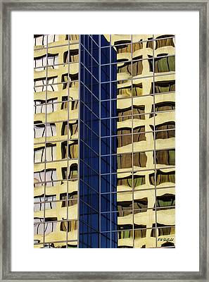 Reflecting Architecture  Framed Print