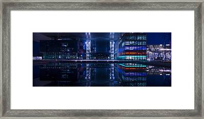 Reflecting Arts And Culture Framed Print by Michael Walker