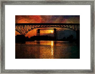 Reflecting At Days End Framed Print by Dale Kincaid