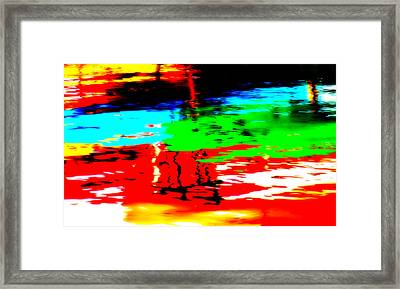 Framed Print featuring the photograph Reflecting by Aurelio Zucco