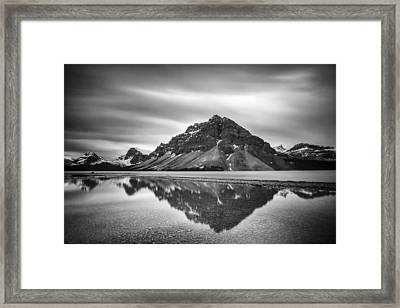 Reflecting Bow Framed Print by Jon Glaser
