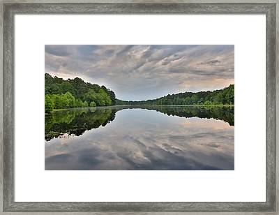 Reflecting Framed Print