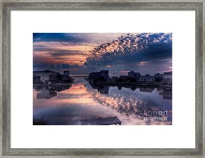 Reflecting On North Carolina Framed Print by Tony Cooper