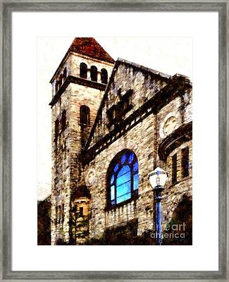 Reflecting On Traditions         Framed Print by Janine Riley