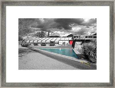 Framed Print featuring the photograph Reflecting Pool by R B Harper