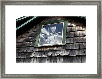 Reflecting Sky Framed Print