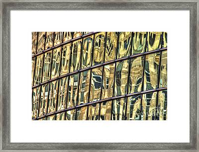 Reflection 11 Framed Print by Jim Wright