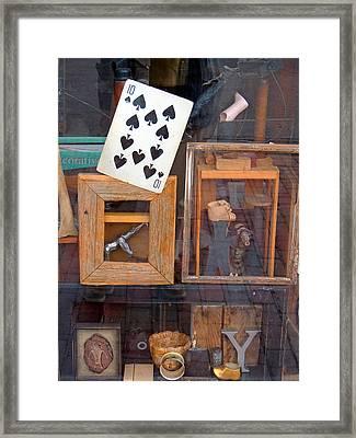 Reflection 2 Framed Print by Marcia L Jones