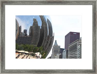 Reflection 37 Framed Print by Jim Wright