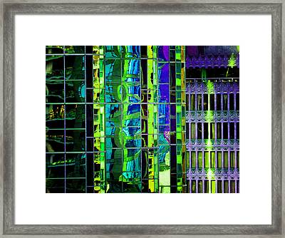 Reflection 4 Framed Print