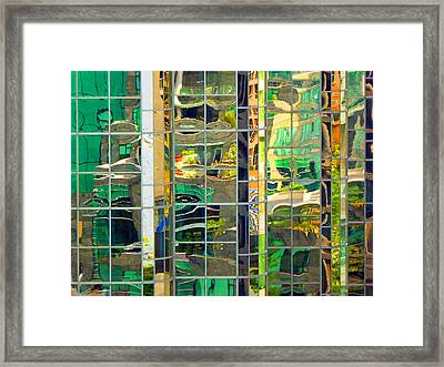 Reflection 5 Framed Print