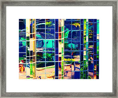 Reflection 8 Framed Print