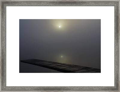 Reflection Framed Print by Andrea Galiffi