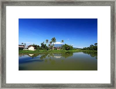 Reflection Framed Print by Andris Hengki piciza