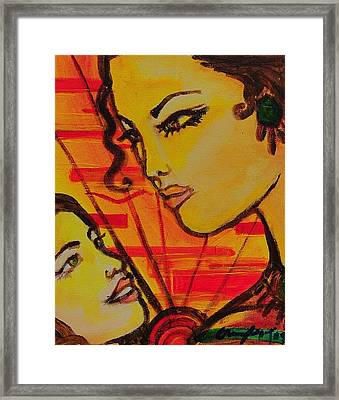Reflection At Dawn Framed Print by Arianne Lequay