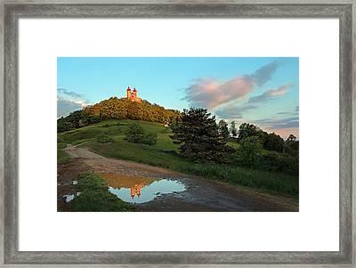 Reflection Framed Print by Bronislava Vrbanova