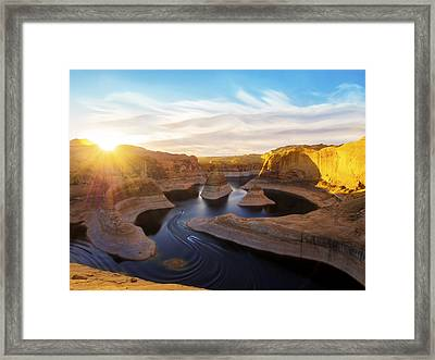 Reflection Canyon Framed Print