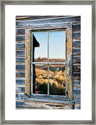 Reflection Framed Print by Cat Connor