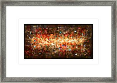 Reflection Framed Print by Craig Tinder