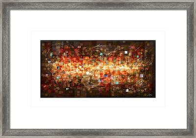 Reflection Framed Print by Craig Tinder