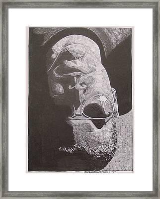 Reflection Framed Print by Denis Gloudeman