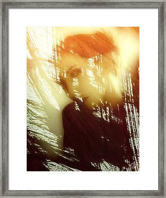 Reflection Framed Print by Gun Legler