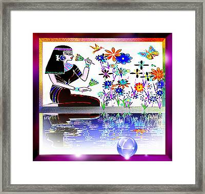 Reflection Framed Print by Hartmut Jager