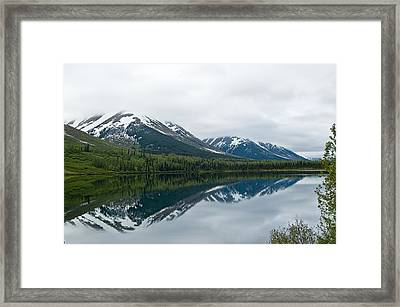 Reflection Montana  Framed Print