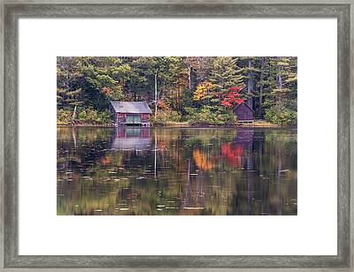 Reflection Framed Print by Jean-Pierre Ducondi